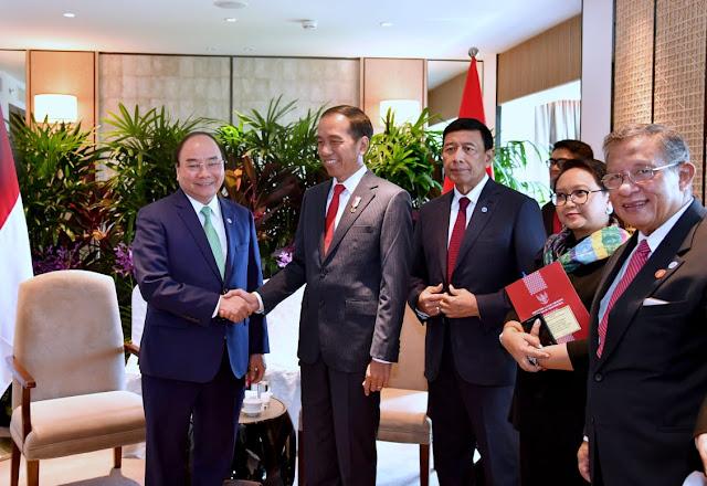 Jokowi Gelar Pertemuan Bilateral dengan PM Vietnam