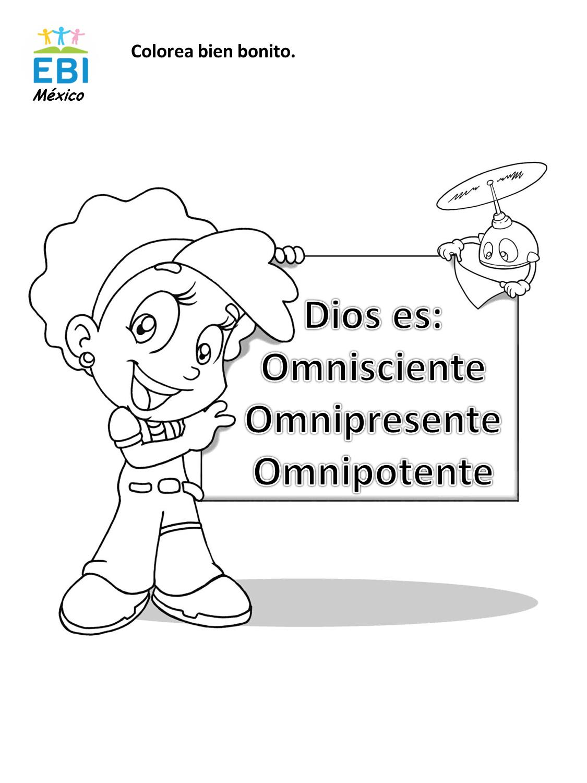 Dibujos para colorear ~ EBI Mexico
