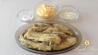 Salata de vinete - etapa 1