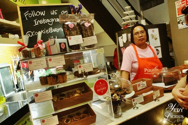 The Little Kitchen and Cashier at Cookie Bar Manila