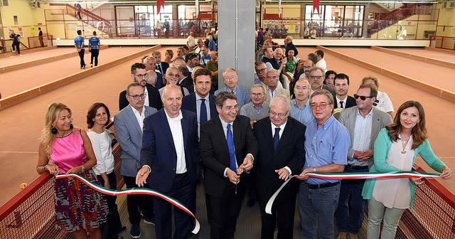Bocciodromo Castelli: inaugurato impianto di Riscaldamento