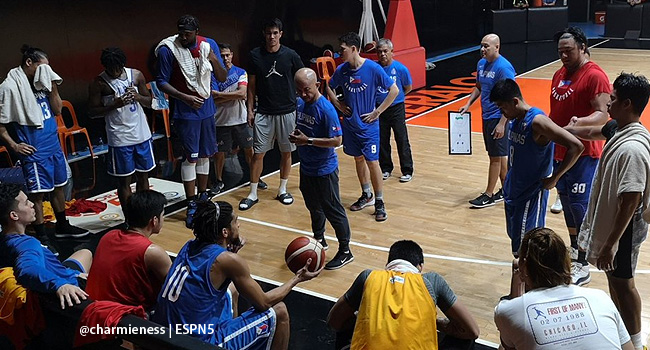 Gilas Pilipinas Practice for the FIBA World Cup 2019 (VIDEO) July 15