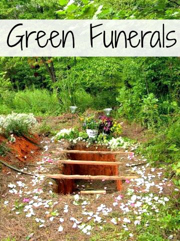 A green funeral?