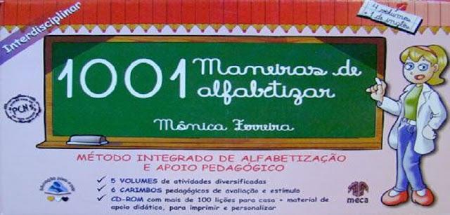 BAIXE EM PDF - O livro '1001 Maneiras de Alfabetizar'