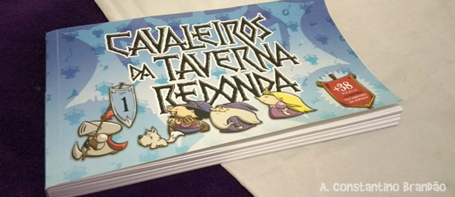 capa do livro cavaleiros da taverna redonda