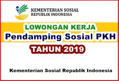 Lowongan Kerja Tenaga PKH ini sesuai Surat Pengumuman Kementerian Sosial Nomor 450/L.JS/03/2019 tentang Seleksi SDM Pelaksana Program Keluarga Harapan (PKH) Tahun 2019.