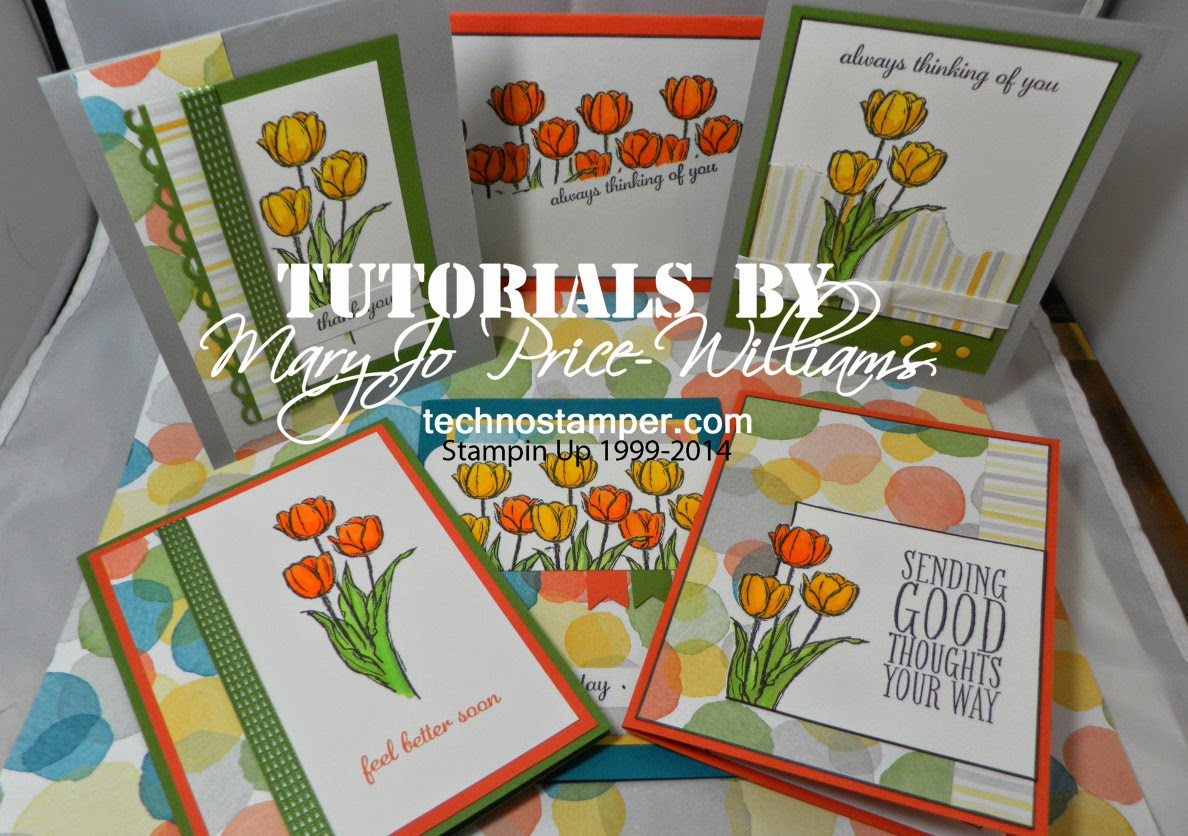 Six Spring Cards for All Occasions