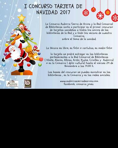 I Concurso Tarjeta de Navidad 2017