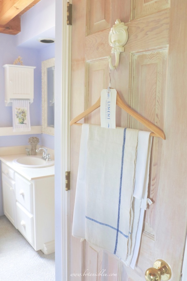 French Country style only takes one vintage French linen towel