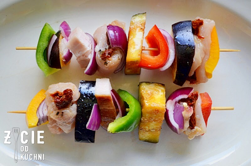 szaszłyki, majówka, grillowanie, dania z grilla, szaszłyki drobiowe, warzywa z grilla, blog, zycie od kuchni