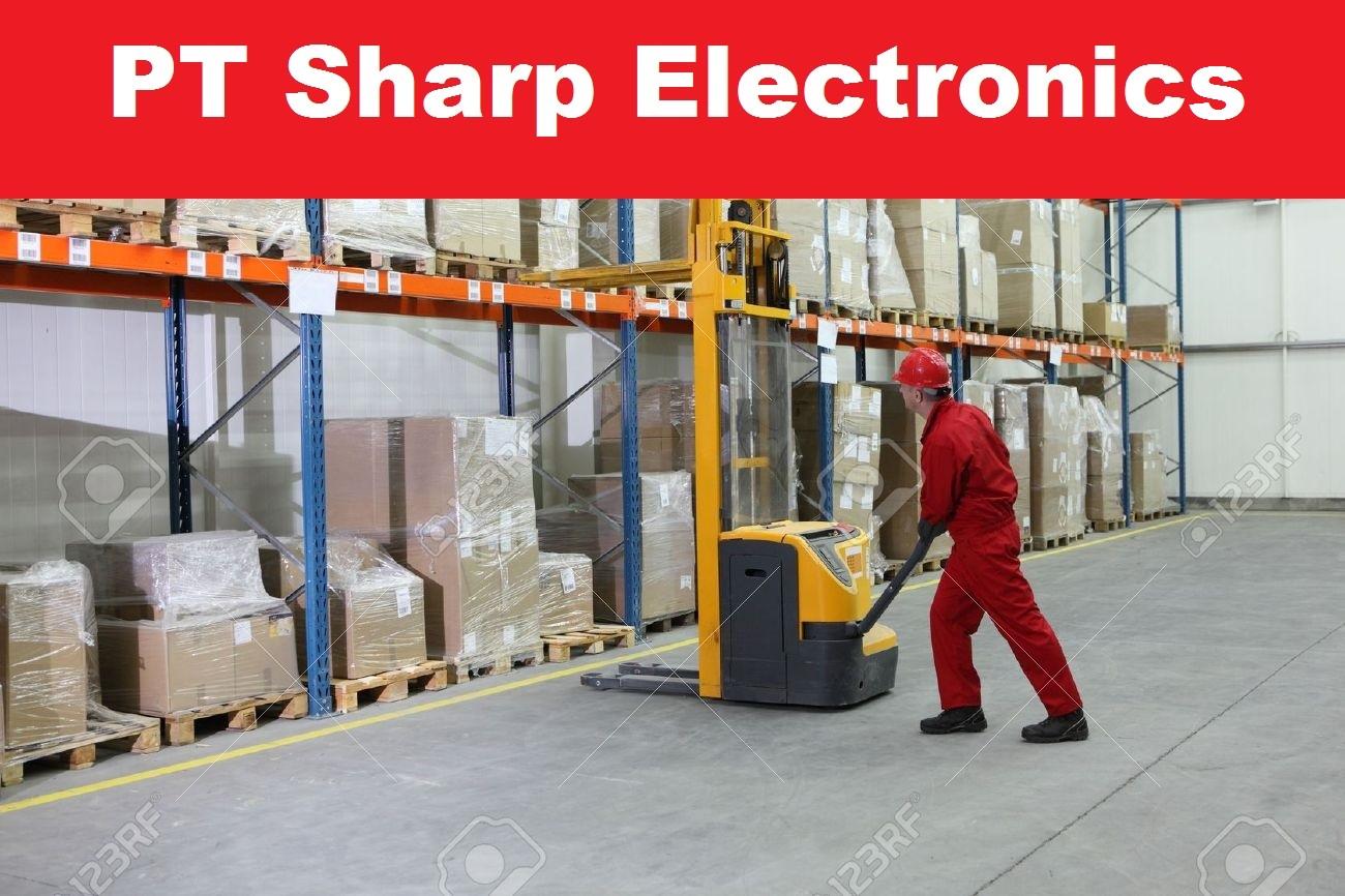 Loker Resmi Tingkat SMA/SMK PT Sharp Electronics Indonesia