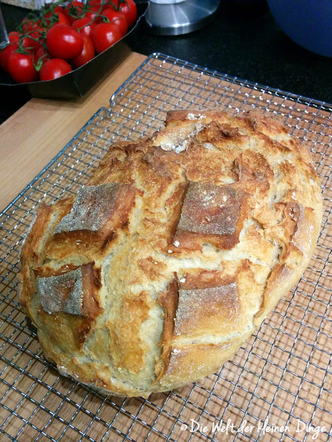 Joghurtbrot, Brot, Römertopf
