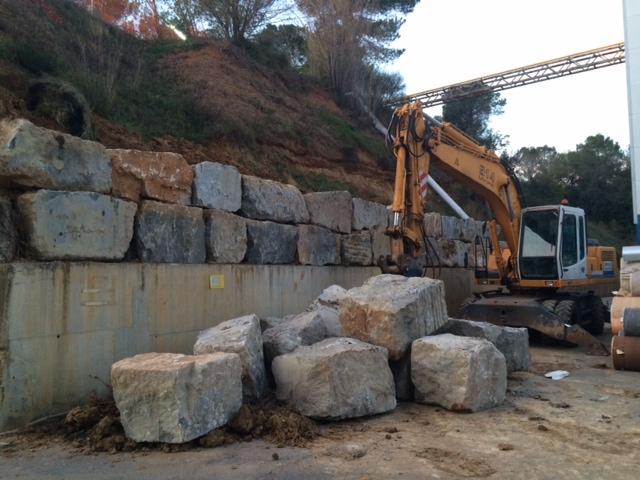 Muros de rocalla muros de piedra natural - Muros de rocalla ...