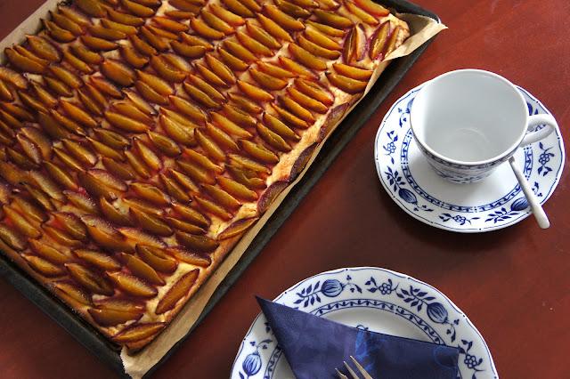 Rezept für glutenfreien Zwetschgenkuchen