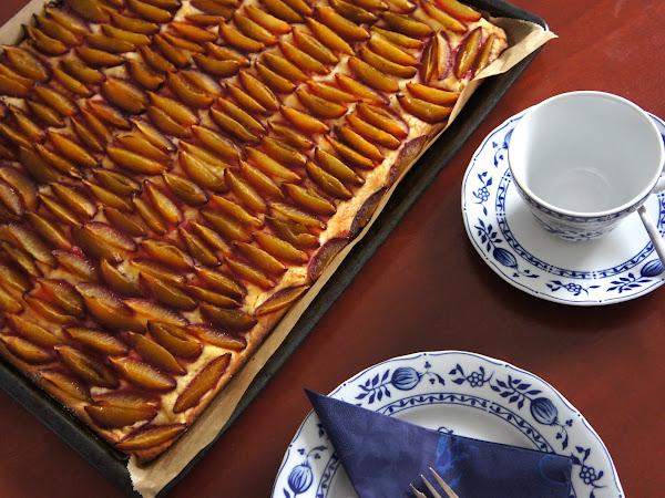 REZEPT: glutenfreier Zwetschgenkuchen