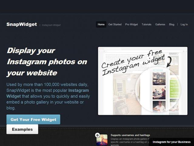 [外掛] SnapWidget 幫網站安裝嵌入製作 instagram 照片牆_001