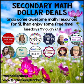 http://www.mrseteachesmath.com/2018/07/secondary-math-dollar-deals.html