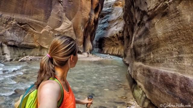 Hiking The Narrows, Zion National Park - Girl On A Hike-1275