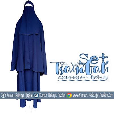 Gamis Jilbab Cadar Lengkap