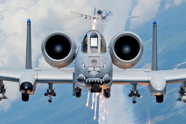 USAF A-10 demo 2018 schedule