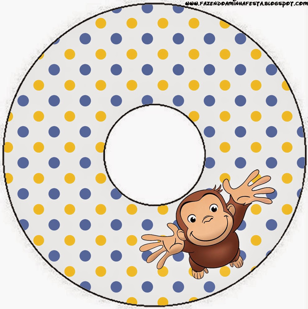 CDs label.  sc 1 st  Oh My Fiesta! & Curious George Free Party Printables. | Oh My Fiesta! in english