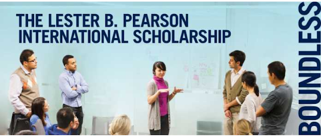 Lester B. Pearson International Scholarship Program 2019/2020 to study at the University of Toronto (Fully funded)