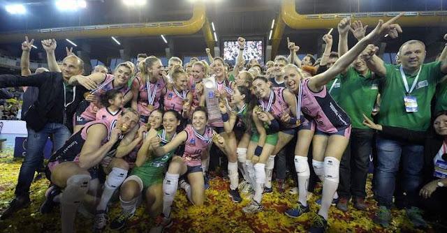 VOLEIBOL - CEV Champions League femenina 2015/2016: sorpresón de las debutantes del Casalmaggiore que conquistaron el título ante Vakifbank