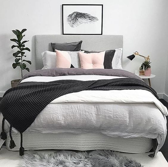 18 modern minimalist bedroom designs for Minimalist bedding ideas