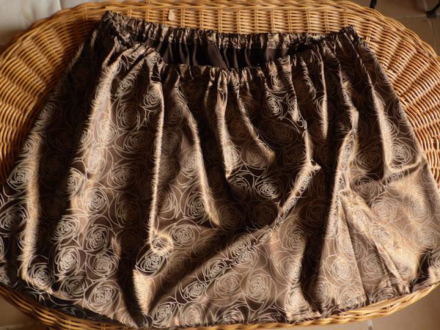 falda con resorte