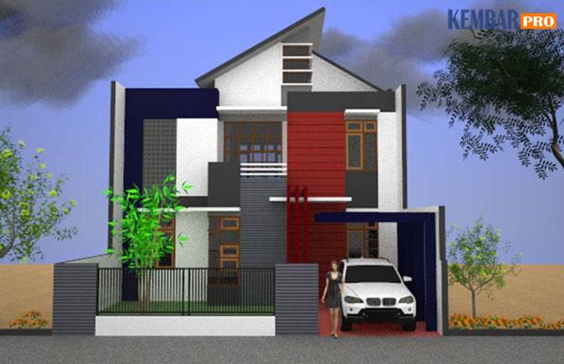Rumah Minimalis-Gambar Tampak Depan Type 150
