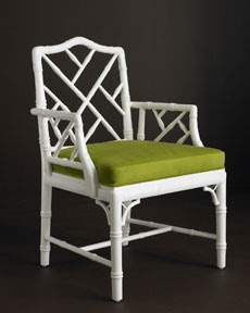 Haymarket Designs Bamboo Chippendale Chairs
