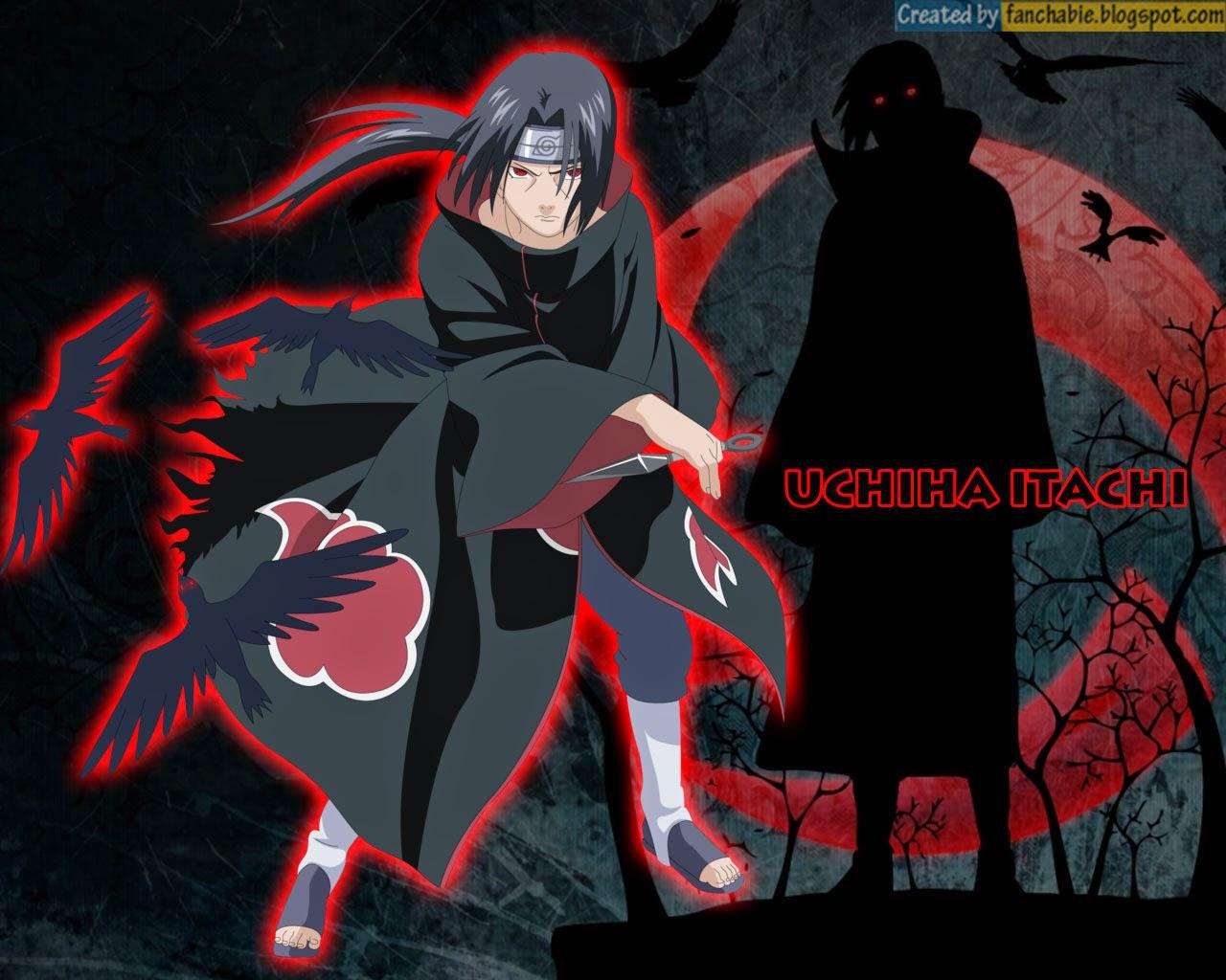 Best Wallpaper: Uchiha Itachi : Akatsuki Organization ...