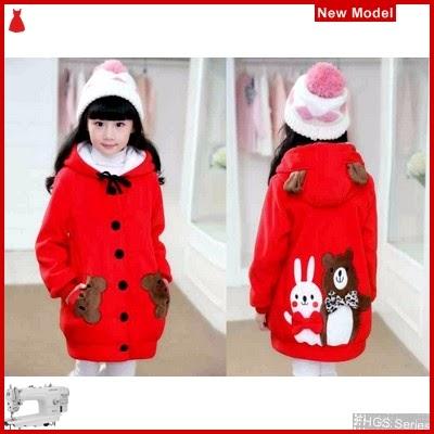 FHGS9194 Model Kid Funny Merah, Anak LO Jaket Babyterry BMG