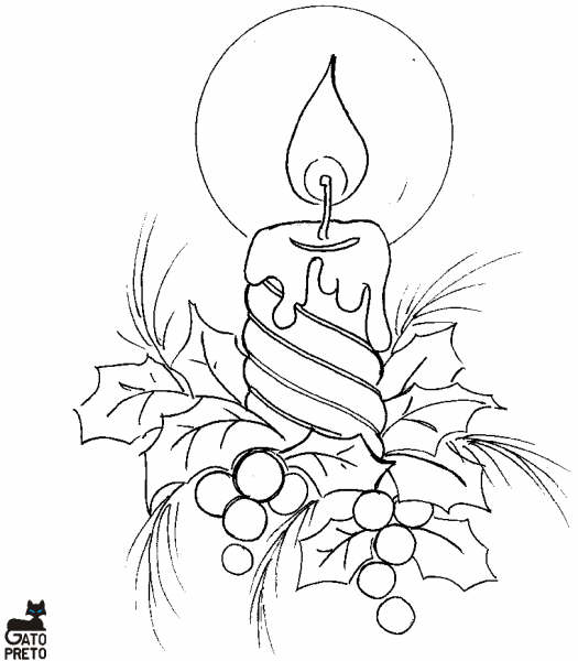 Desenhos Natalinos Seu Natal Com Arte Para Colorir E Usar Como