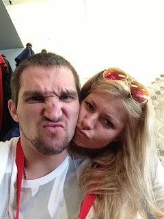 Alex Ovechkin Maria Kirilenko