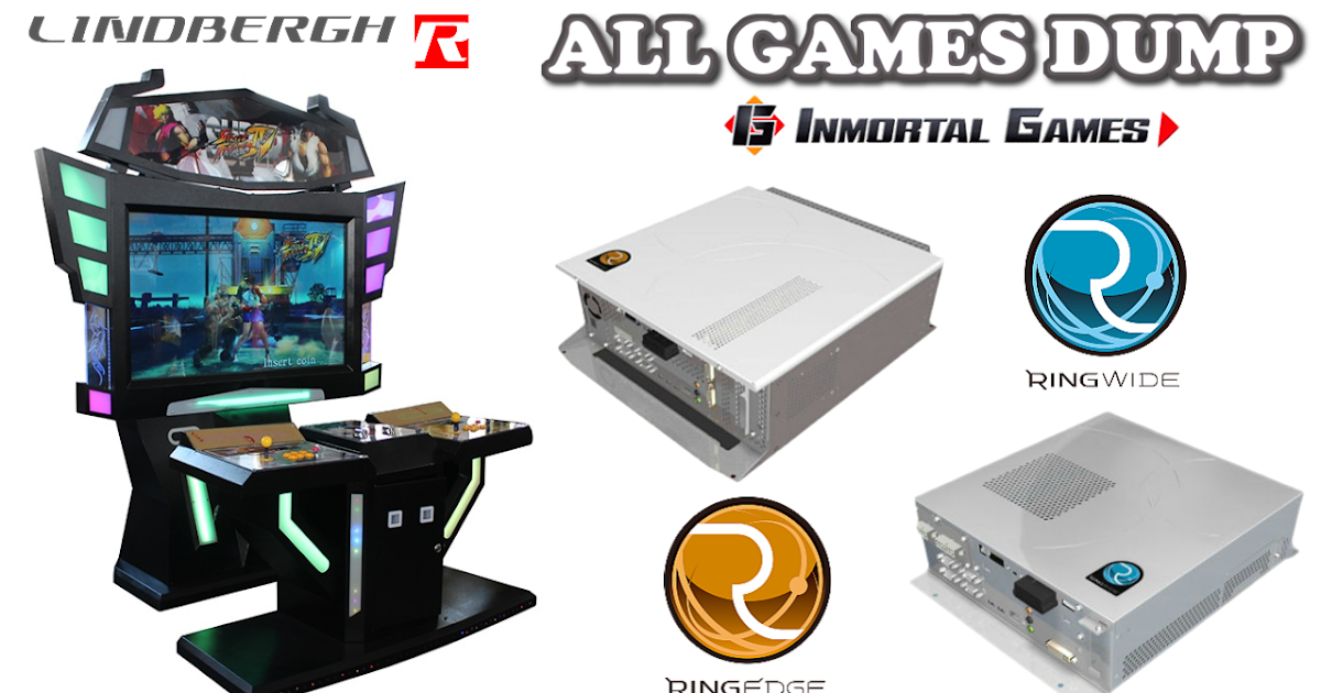 ARCADE GAMES DUMP - Inmortal Games Usa