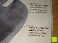 Info: PREMIUM Memory-Schaum Posture orthopädische Sitzkissen , für Rückenschmerzen , Steißbein, Ischias, FREE Carry Bag & FREE Sitzkissenbezug von SunrisePro - 100% Unconditional