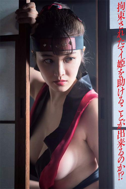 Mai Hakase 葉加瀬マイ, Weekly Playboy 2018 No.07 (週刊プレイボーイ 2018年07号)