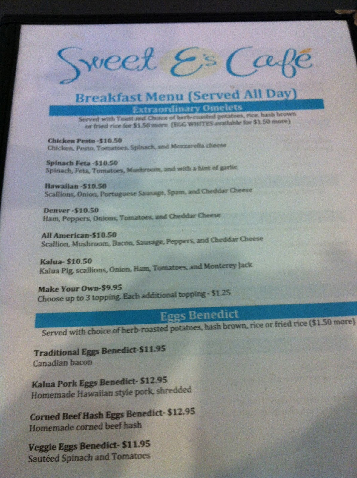 TASTE OF HAWAII: SWEET E\'S CAFE - HONOLULU, HAWAII