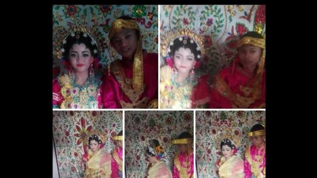 Foto Pasangan Ini Hebohkan Netizen dan Bikin Heboh! Ini Terjadi di Indonesia!
