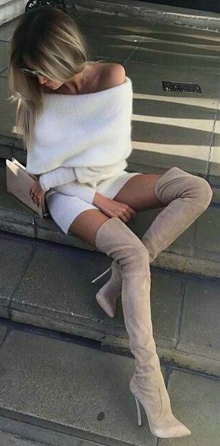 40 Fashion-Approved Ways To Wear Over-the-Knee-Boots