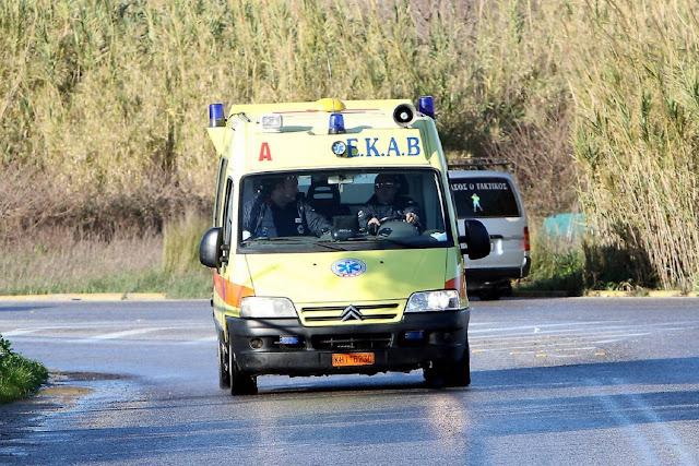 Τροχαίο ατύχημα με τραυματία στα Μέθανα