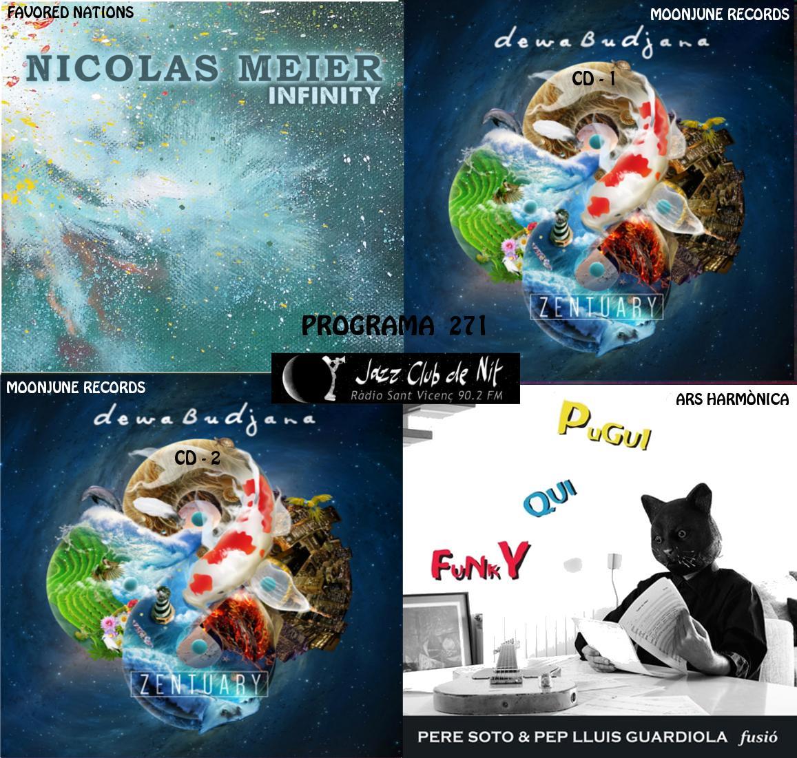 Jazz Club De Nit A Radio Sant Vicenc 90 2 Fm Programa 271 Nicolas