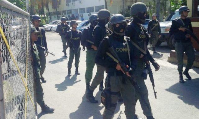"""El """"comando antigolpe"""" arremete contra la oposición y encarcela diputados, concejales y dirigentes"""