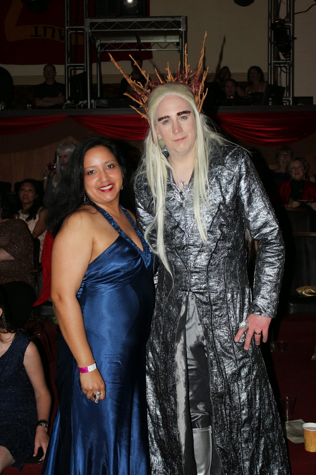 I had to get a picture taken with this amazing Thranduil cosplay - One Last Party