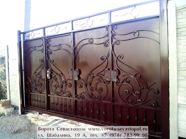 Кованые вороты