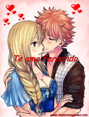 Te amo Fernando
