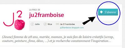 © Ju2Framboise - Comment récupérer ses liens de partage Hellocoton