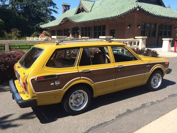 1978 Toyota Corolla Deluxe Woody Wagon Keep Cars Weird Wednesday