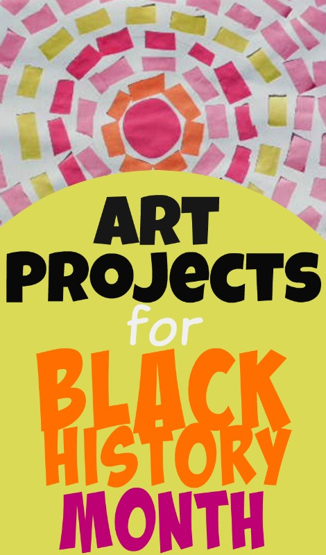Black History Art Projects for Children: Expressionist